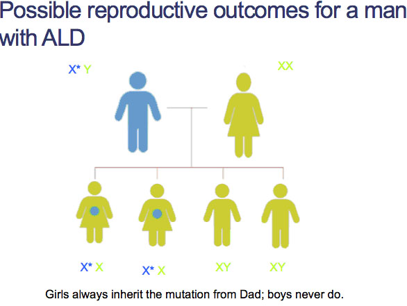possible_reproductive_outcomes_for_a_man_with_ALD